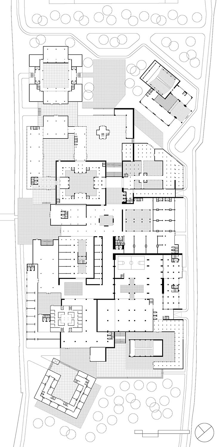 Rowe 2: Floor plan