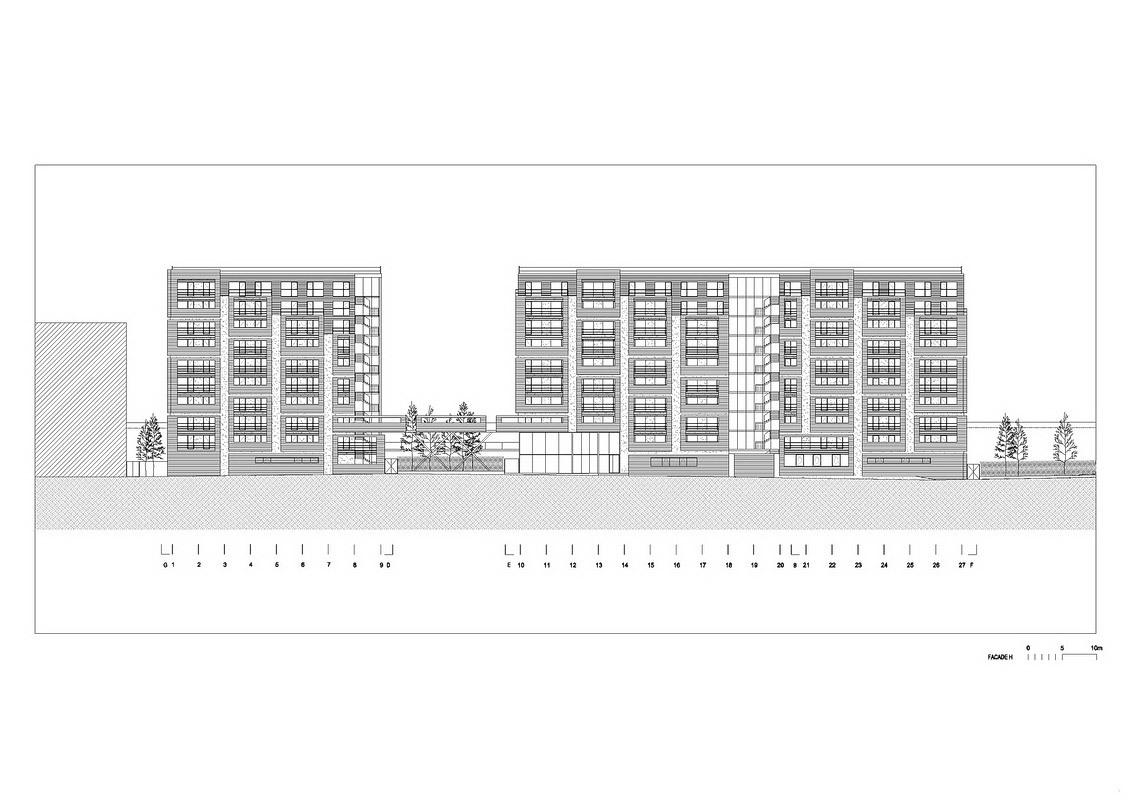 Elevation (Image: OFIS Arhitekti)