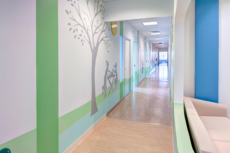 Toronto Sick Kids - Wall graphics