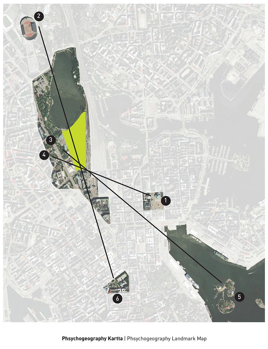 Psychogeography landmark map (Image: PAR)