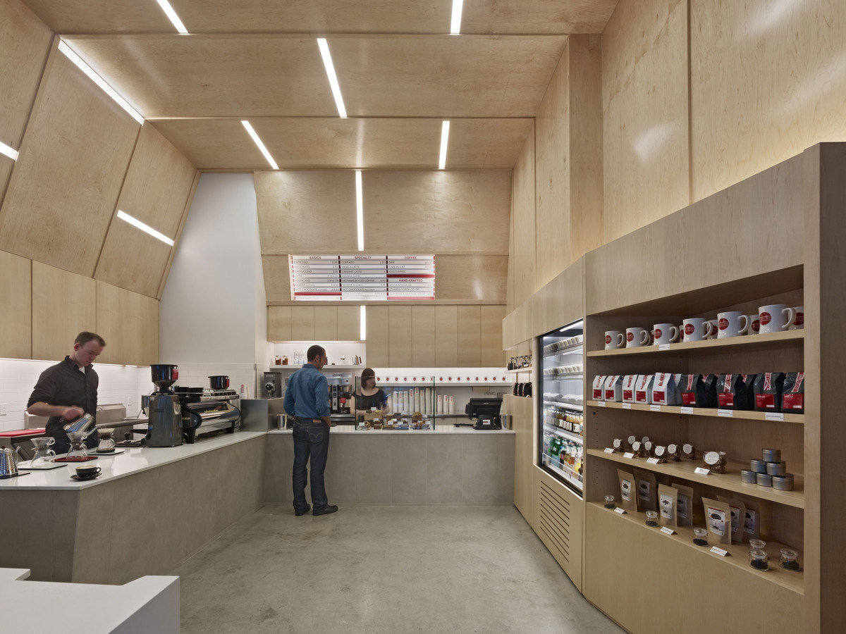 Coffee Bar Montgomery Street in San Francisco, CA by jones | haydu
