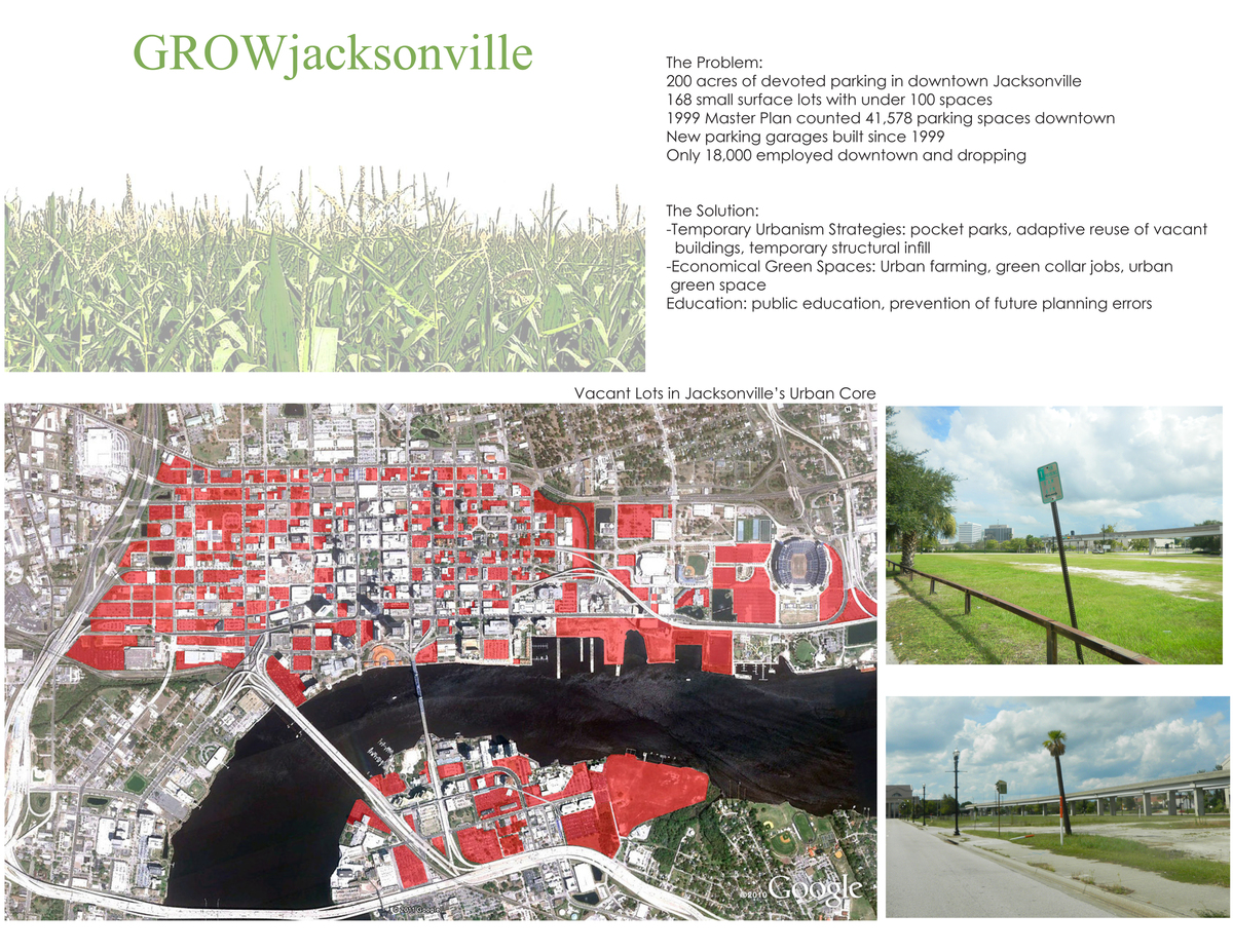 Problems facing Jacksonville's urban core
