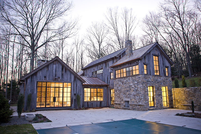 Connecticut house in the woods jendretzki tittman jendretzki llc archinect - The house in the woods ...