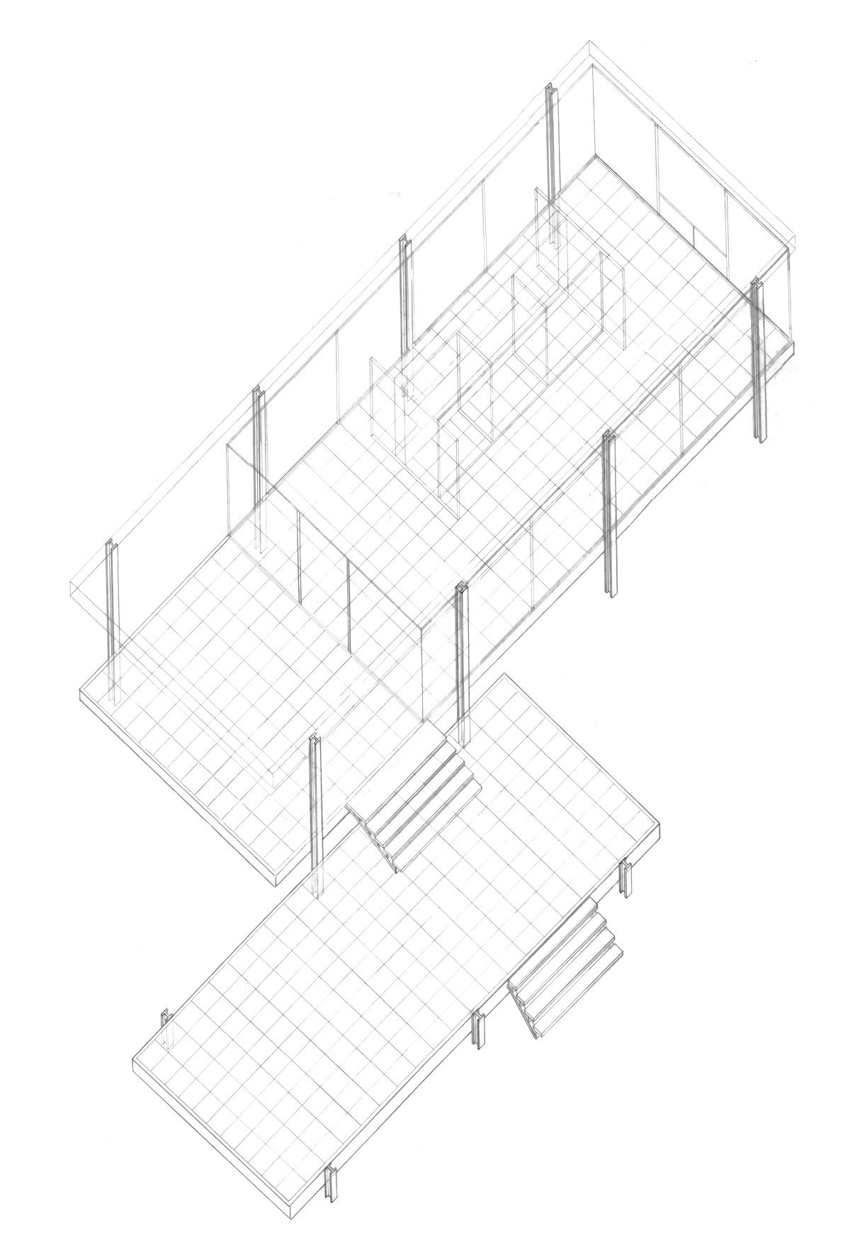 Case Study Farnsworth House Mark Hartenstein Archinect