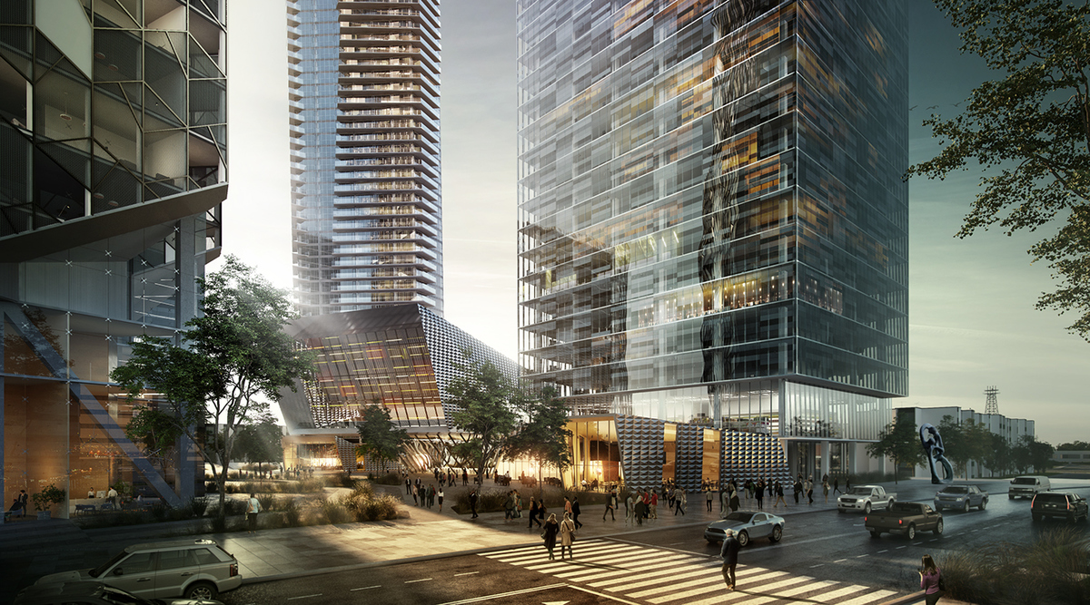 Quebec tower motiv archinect for Architecture quebec