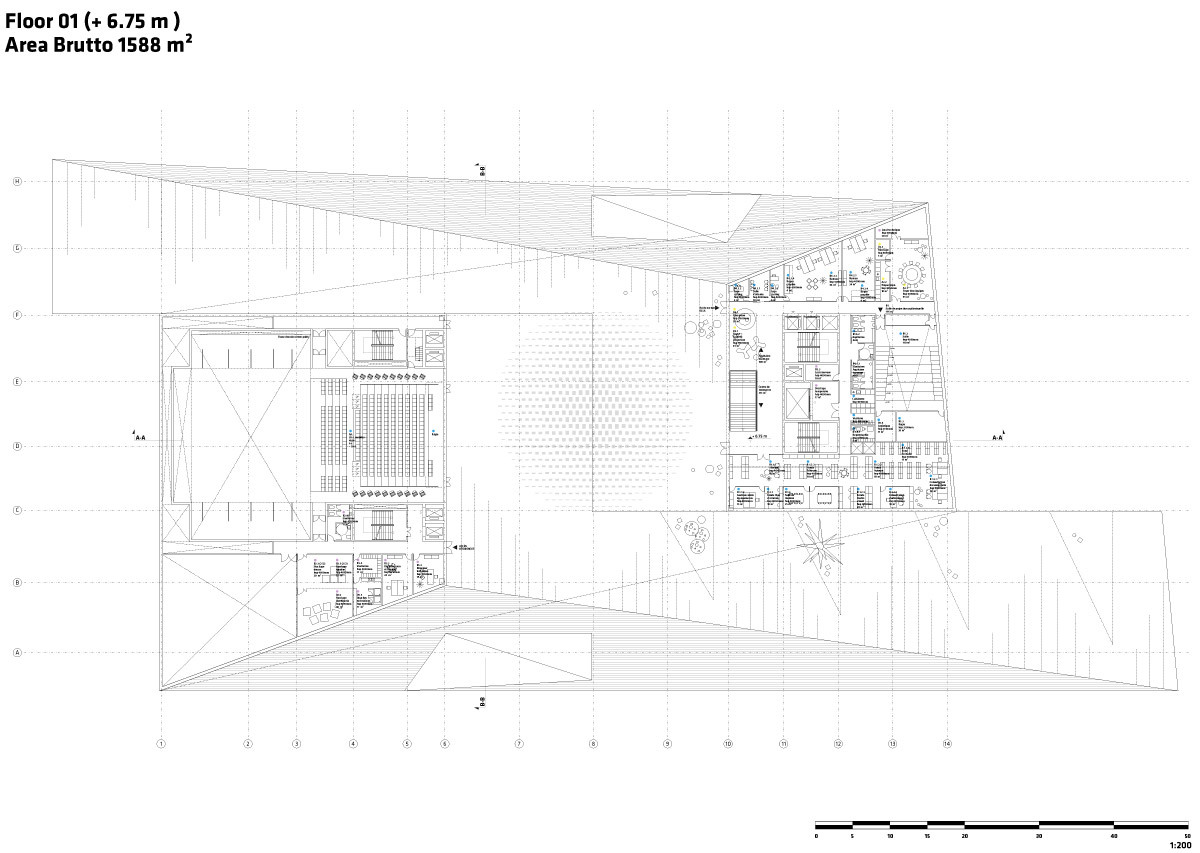 Floor plan - 1 (Image: Team BIG)