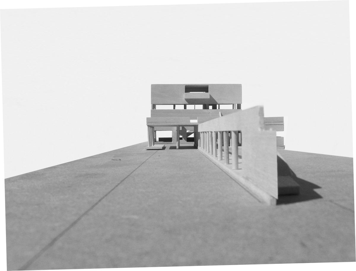 model view from front