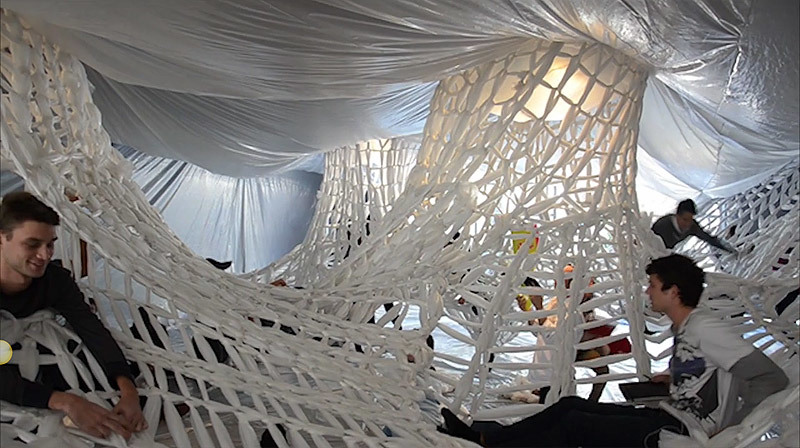 White studio 400 book show installation news archinect for Architecture firms san luis obispo