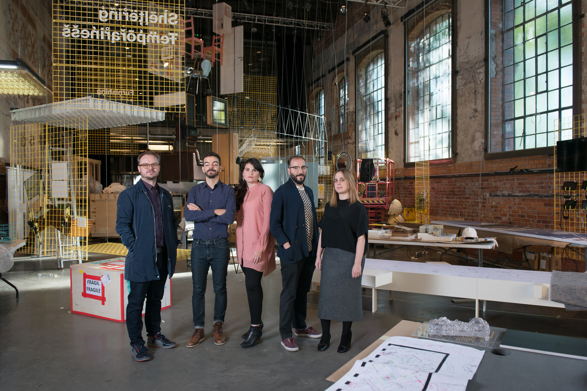 The After Belonging Agency, curators of the 2016 Oslo Architecture Triennale. Credit: Istvan Virag via the Oslo Architecture Triennale