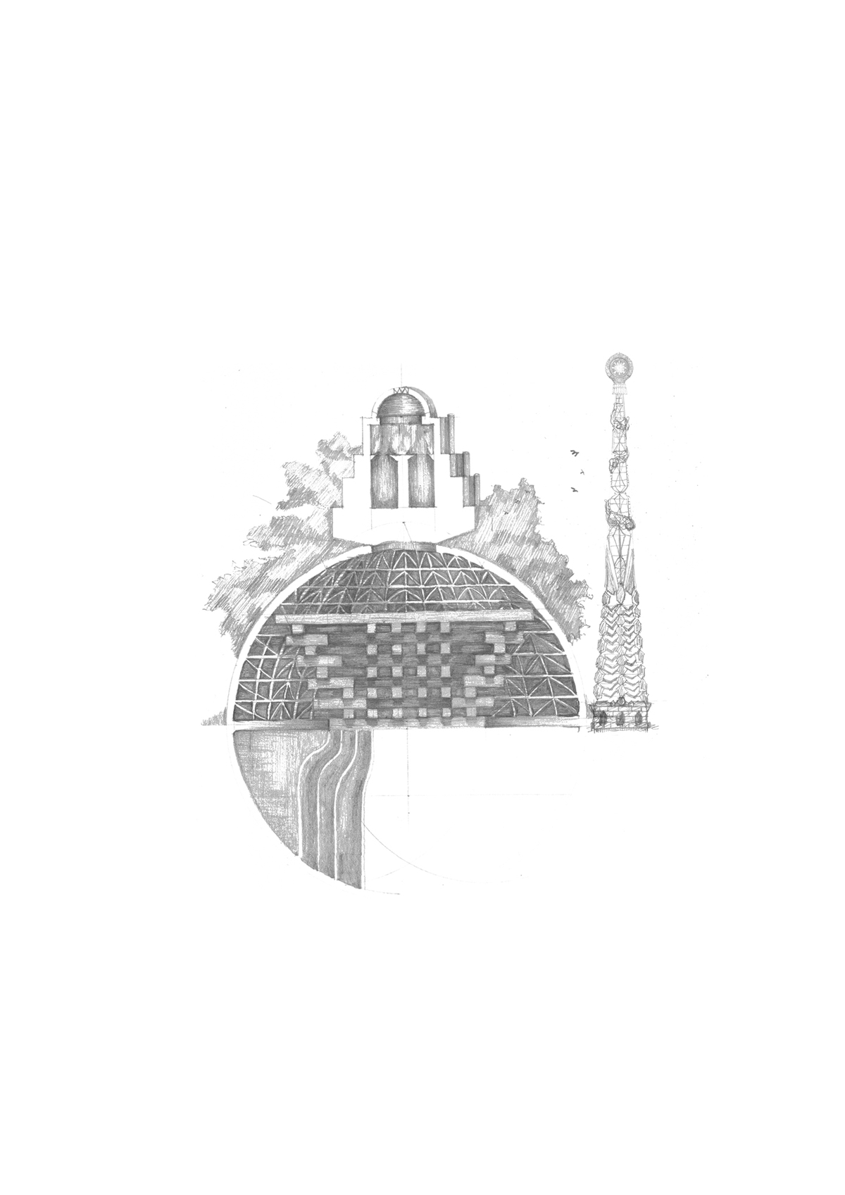 Conceptual Drawing[cinema]