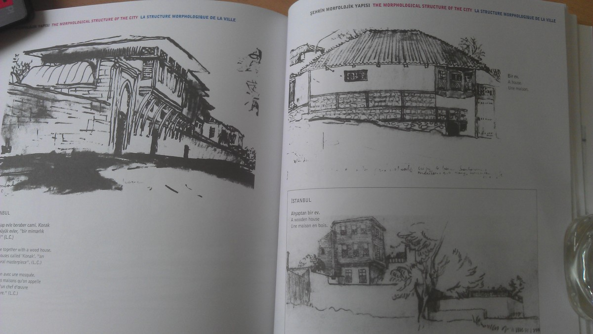 Corbusiers sketches of wood houses