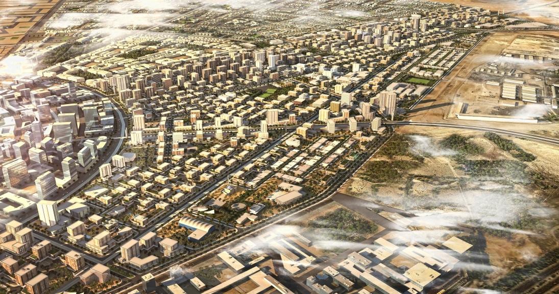 South Spine, Abu Dhabi