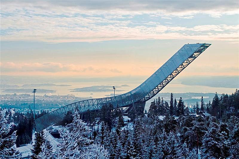 New Holmenkollen Ski Jump