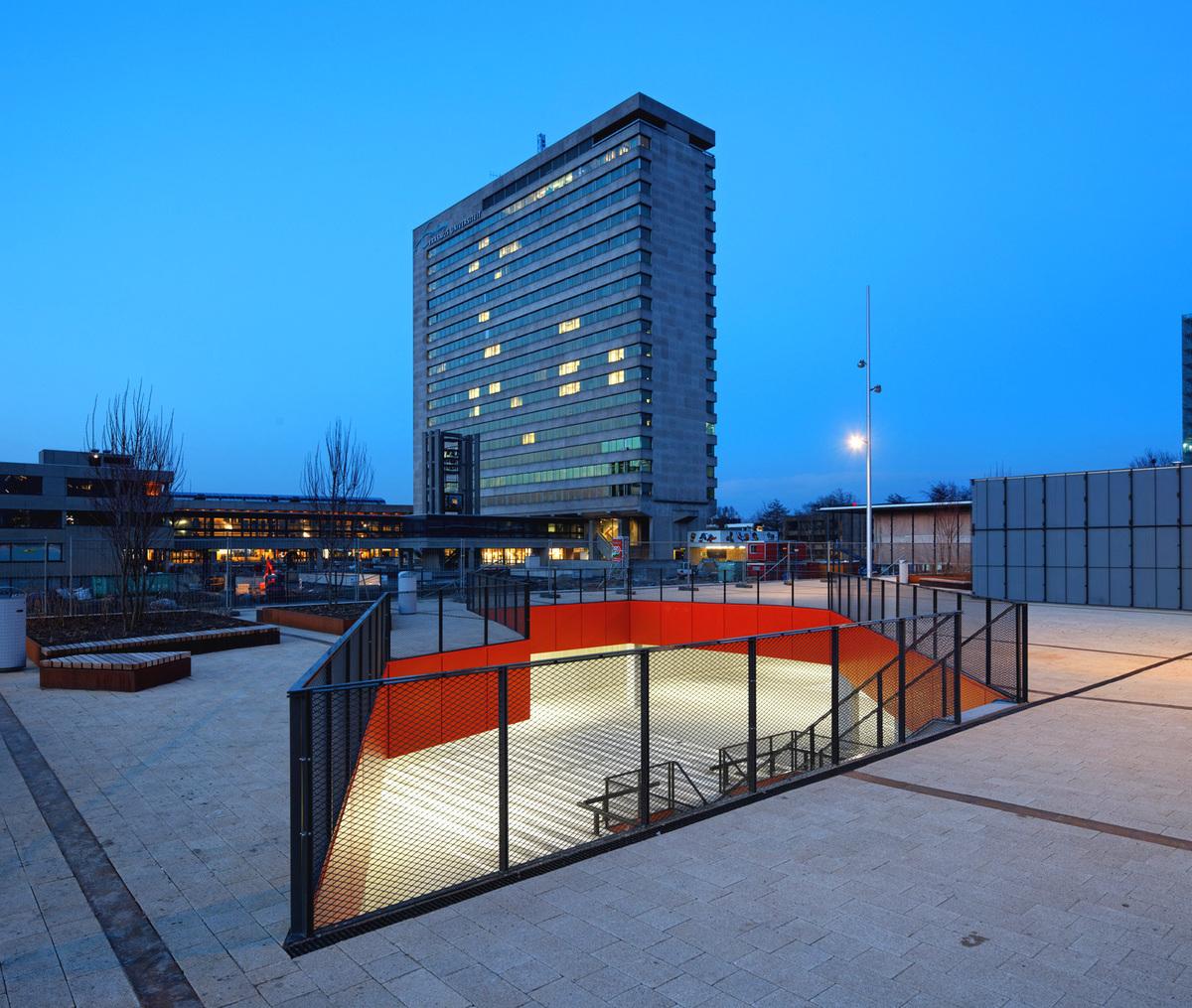 University Of Amsterdam Dorms: Erasmus University Campus Masterplan