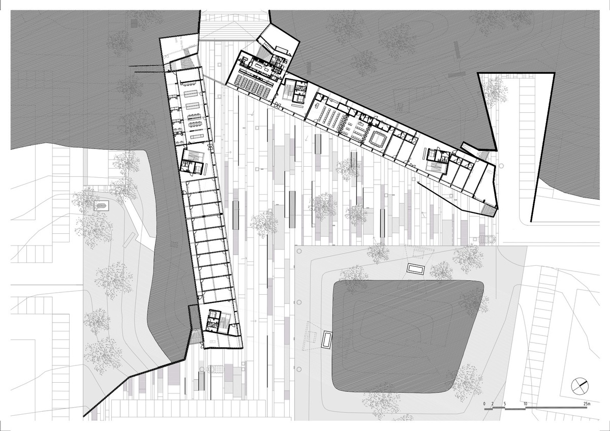First floor plan, courtesy of Jorge Mealha