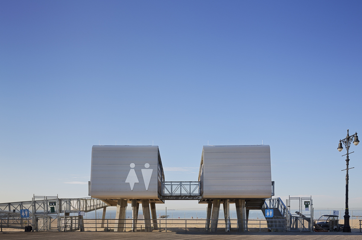 Nyc parks department beach restoration modular structures for Architecture companies in nyc