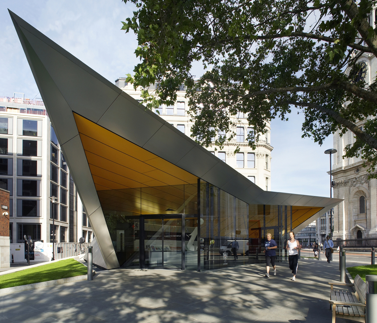 City of london information centre make architects for The best architecture firms in london