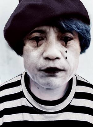 Ando as a mime