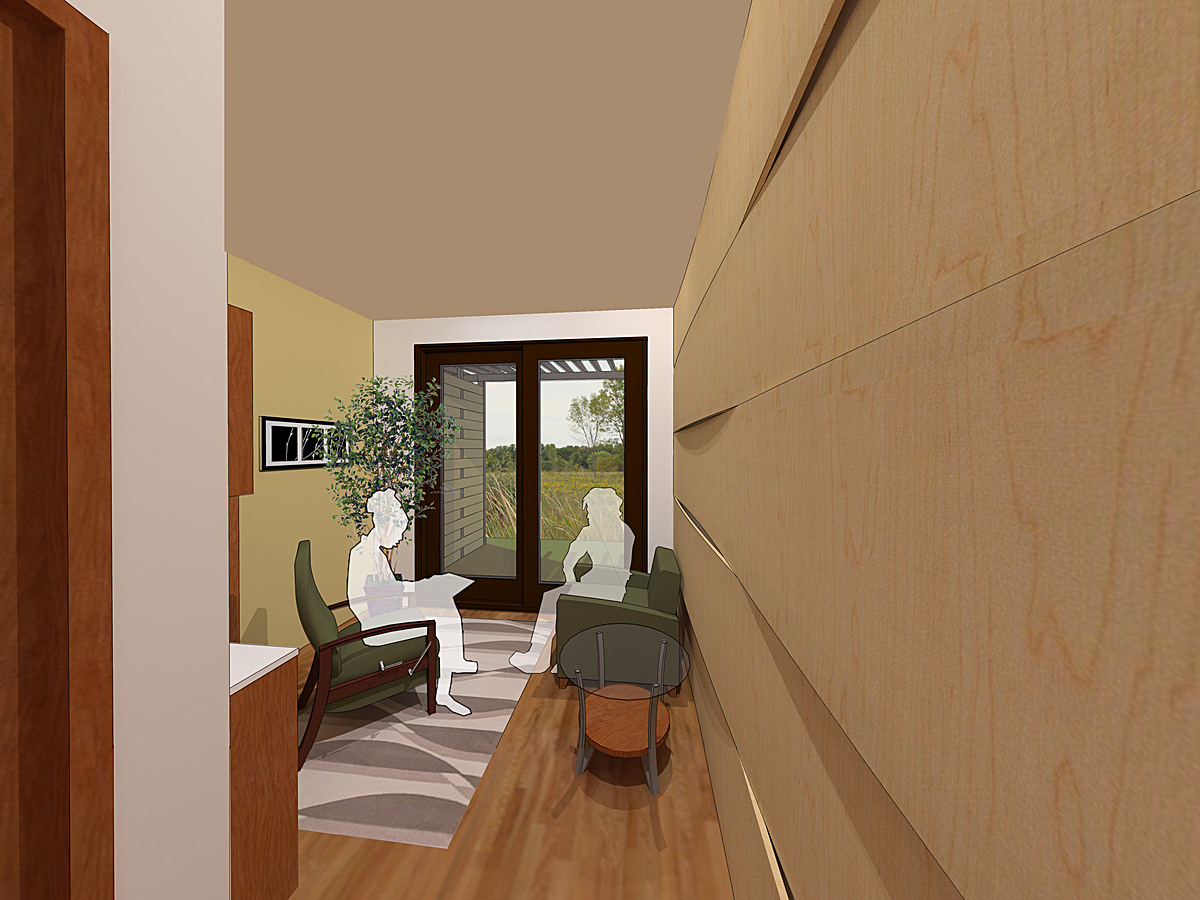 Individual patient chemotherapy treatment rooms