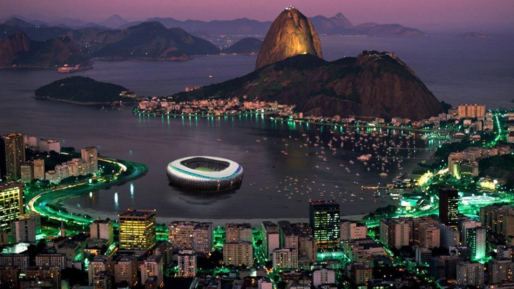 Floating Olympic stadium, courtesy of Koen Olthuis / Waterstudio.NL, via The Atlantic Cities.