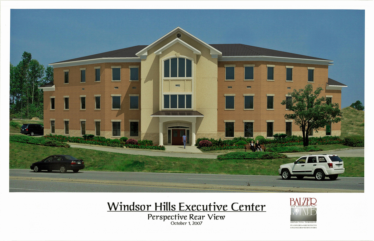Windsor Hills Executive Building - Computer Model