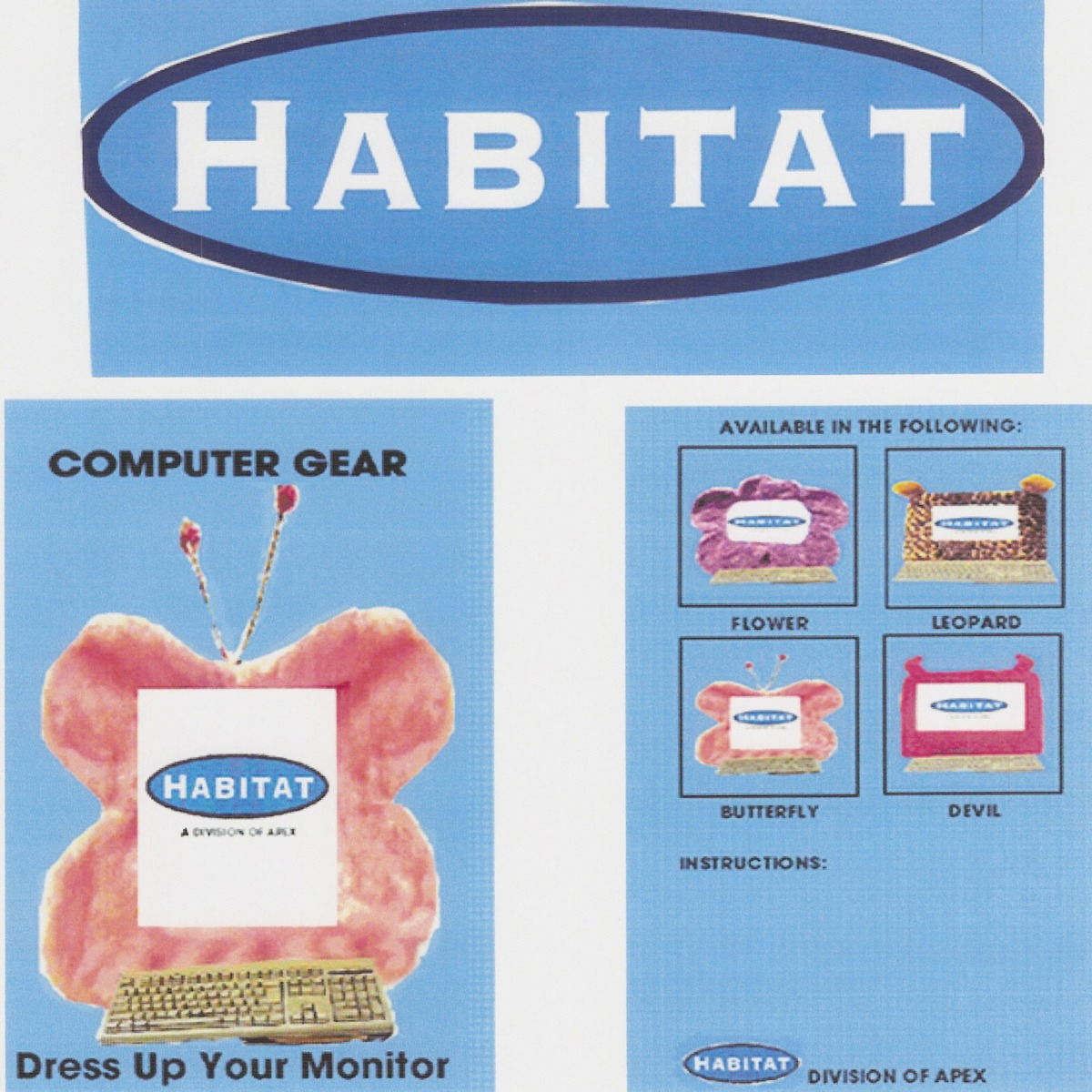Packaging for Habitat firm