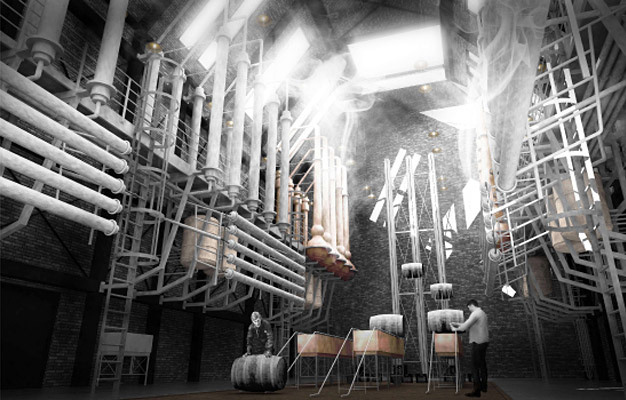 Special Mention/Interior Architecture: The Augmented Distillery, Matt Drury, UK