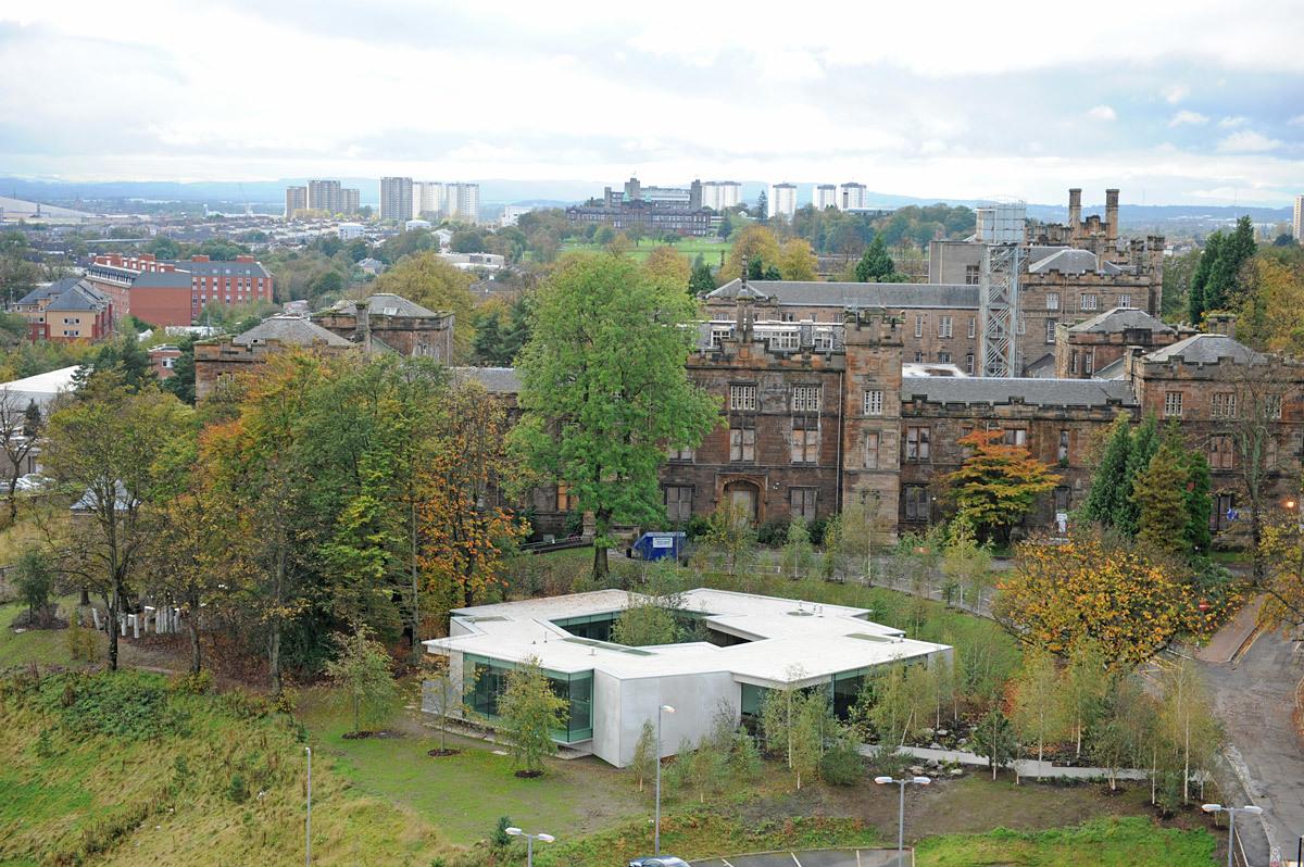 Maggie's Centre, Gartnavel, Glasgow by OMA (Photo: Charlie Koolhaas)