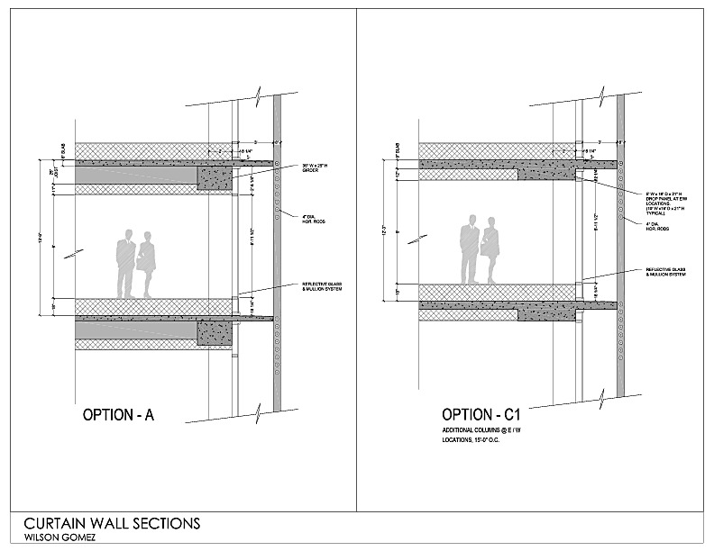 Elegant Curtain+Wall+Section Curtain Wall Section Http://espacomulherancestral . ...