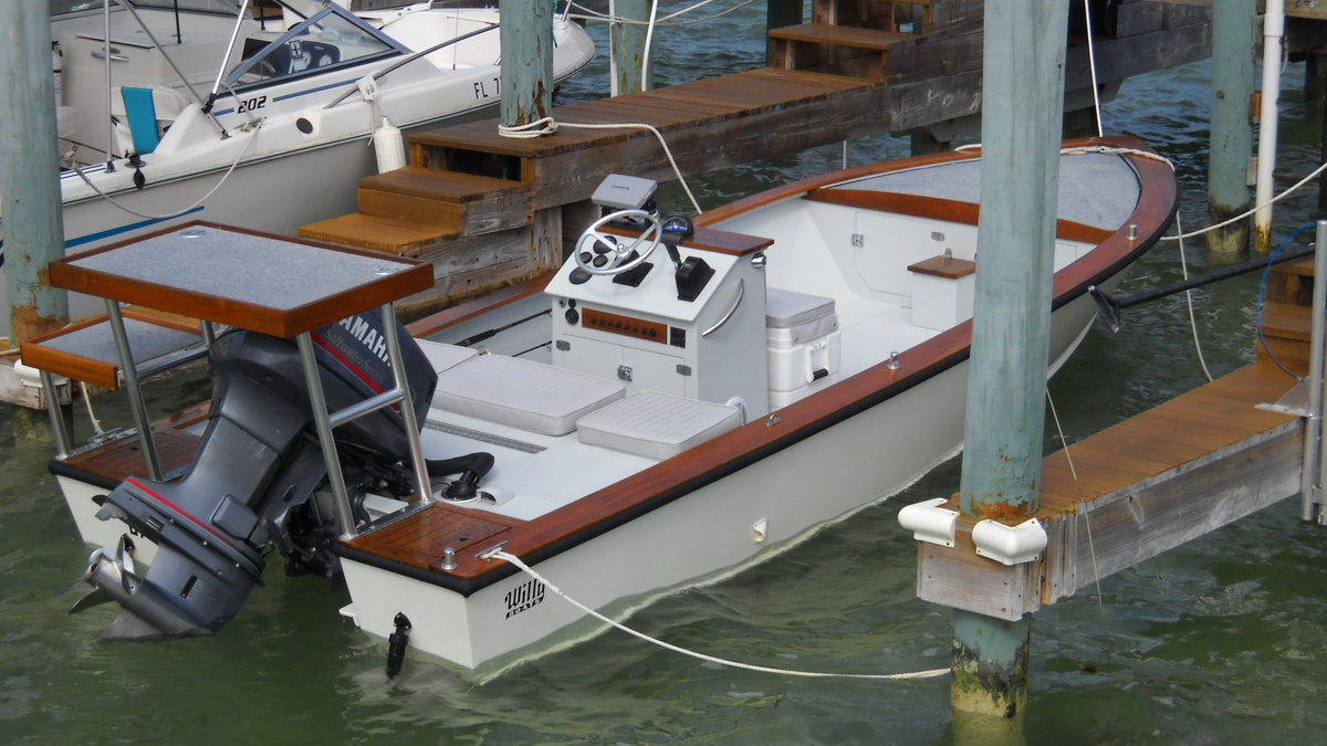 Boatworks Restoration Of A 1988 Willy Roberts Wooden