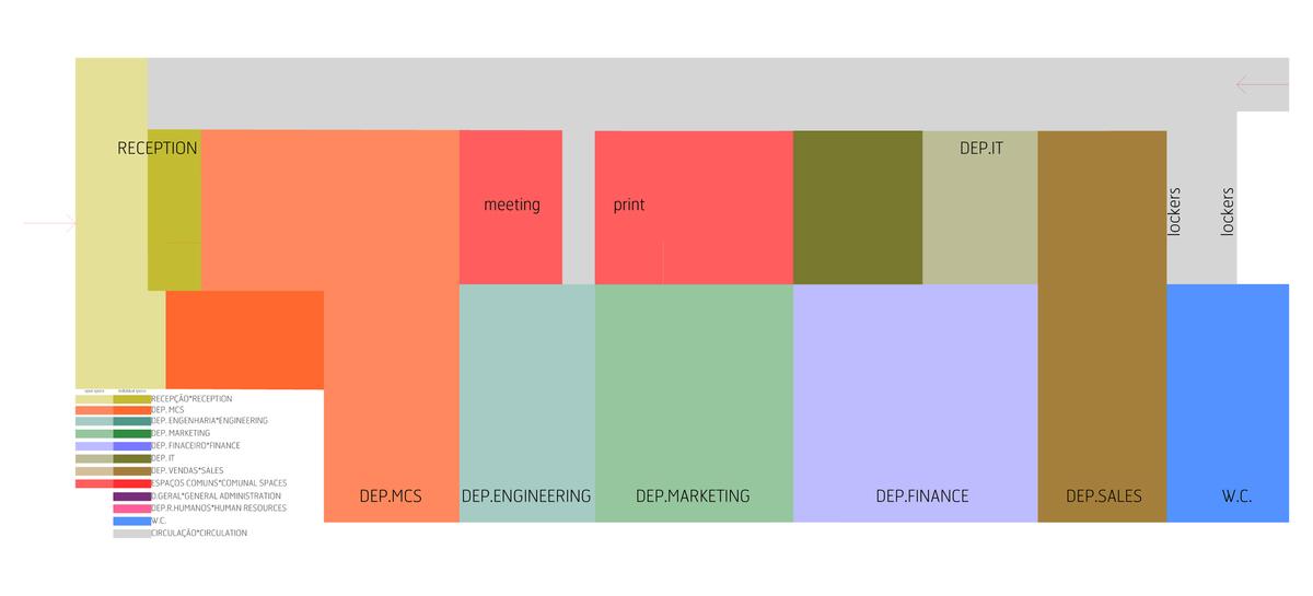 functional diagram - ground floor