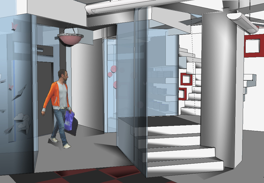 Staircase/Elevator Lobby