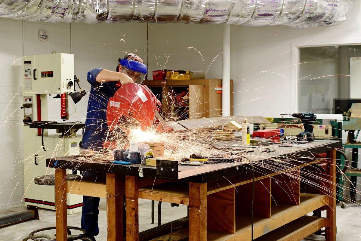 Clemson Design Center in Charleston, shop sparks