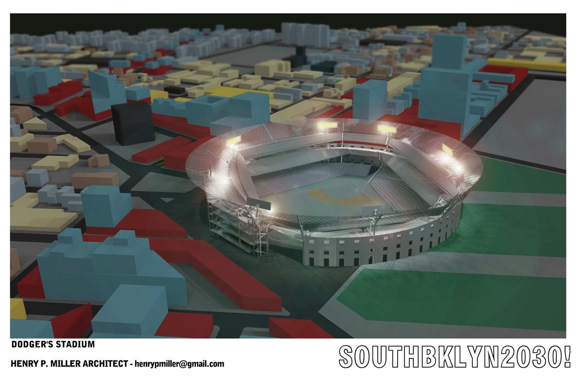 Dodgers Stadium Rendering