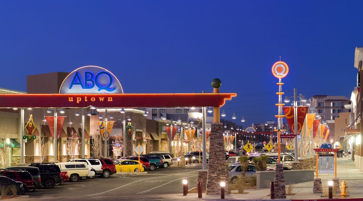 View an interactive 3D center map for ABQ Uptown that provides point-to-point directions along with an offline mall map.