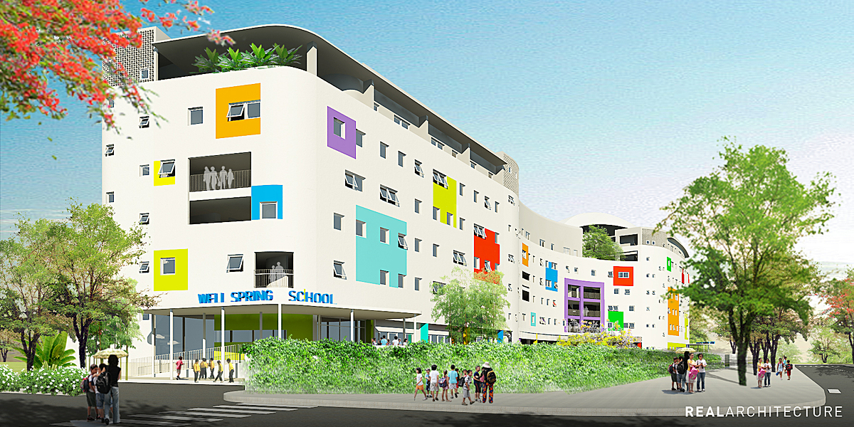 Wellspring school ho chi minh realarchitecture archinect - Riverview gardens school district jobs ...