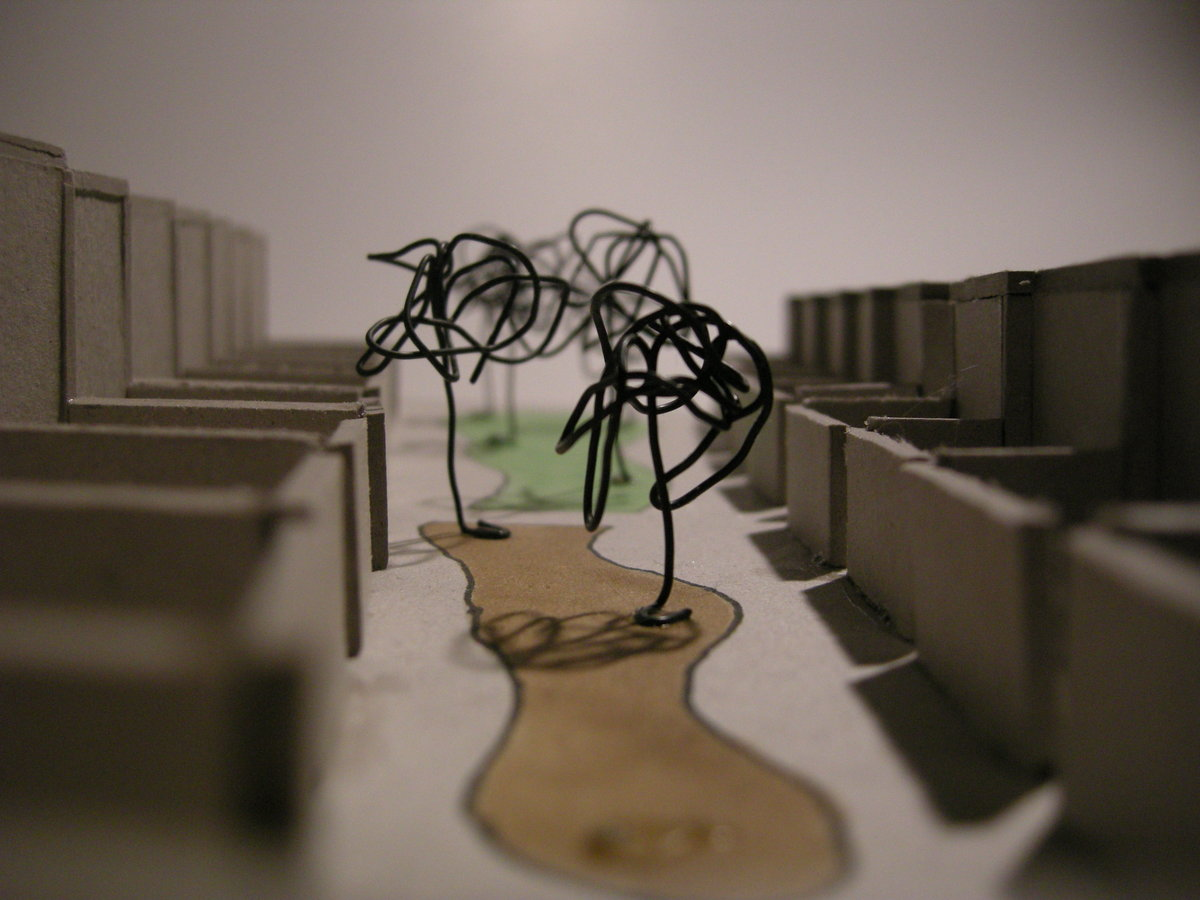 Model (central common space)