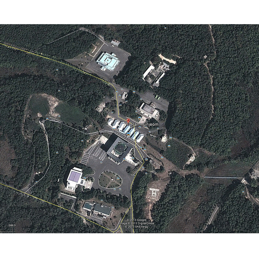 DMZ of North and South Korea?? More specifically the JSA (Joint Security Area)? via BYK3