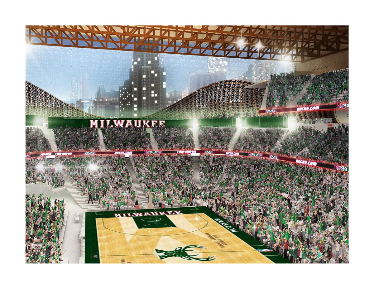Milwaukee Bucks Basketball Arena Competition Jake Henry
