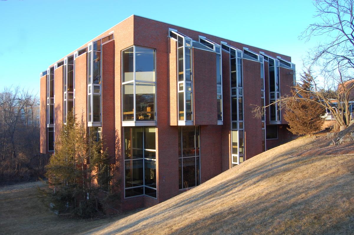 Farber Library Brandeis University James Lambros
