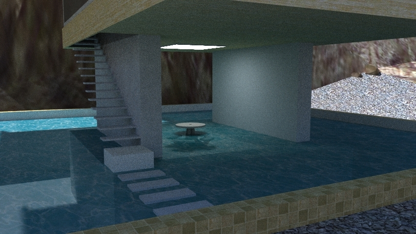 The vertical house part1 indhava kunjara archinect for Pool design sketchup