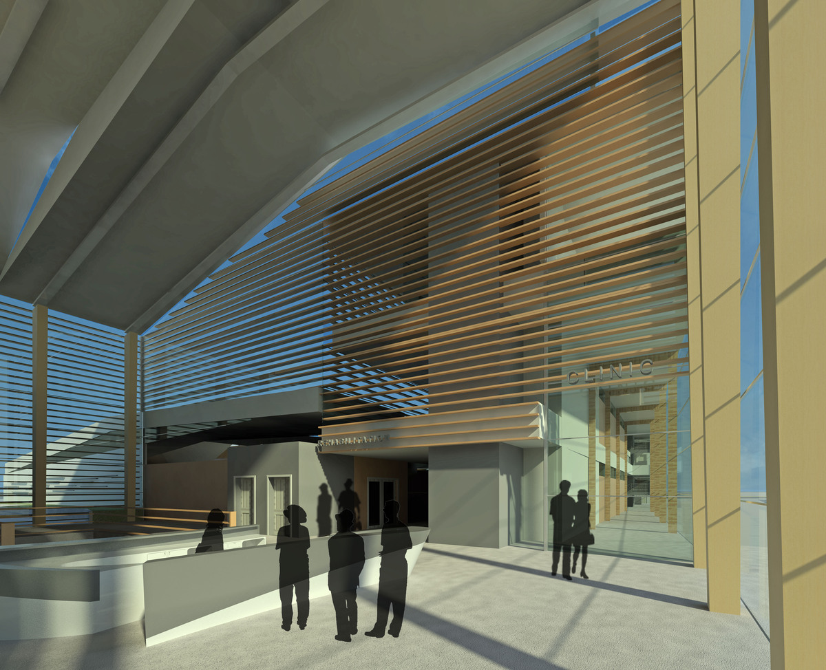 Main Entrance and Atrium Space