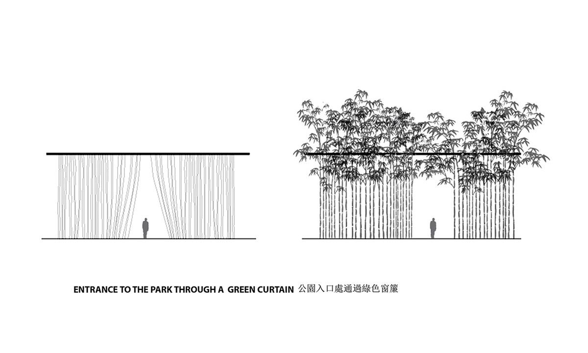 Green curtain (Image: KAMJZ)