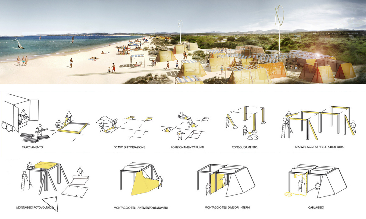 Nomad off grid removable structures filippo taidelli for Architecture nomade