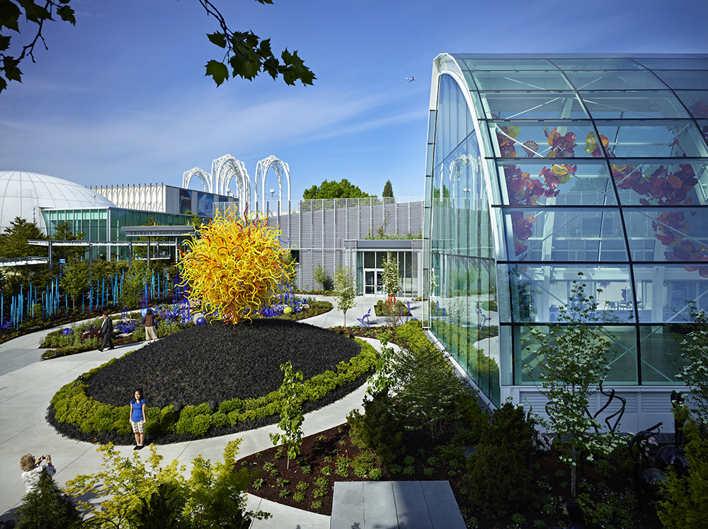 Chihuly Garden Glass Land Morphology Archinect