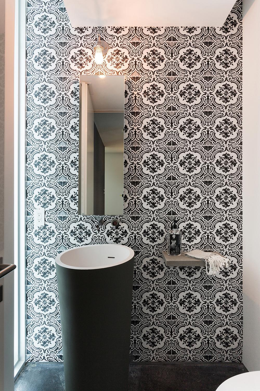 San marco island residence strang architecture archinect - Papel pintado para banos sobre azulejos ...