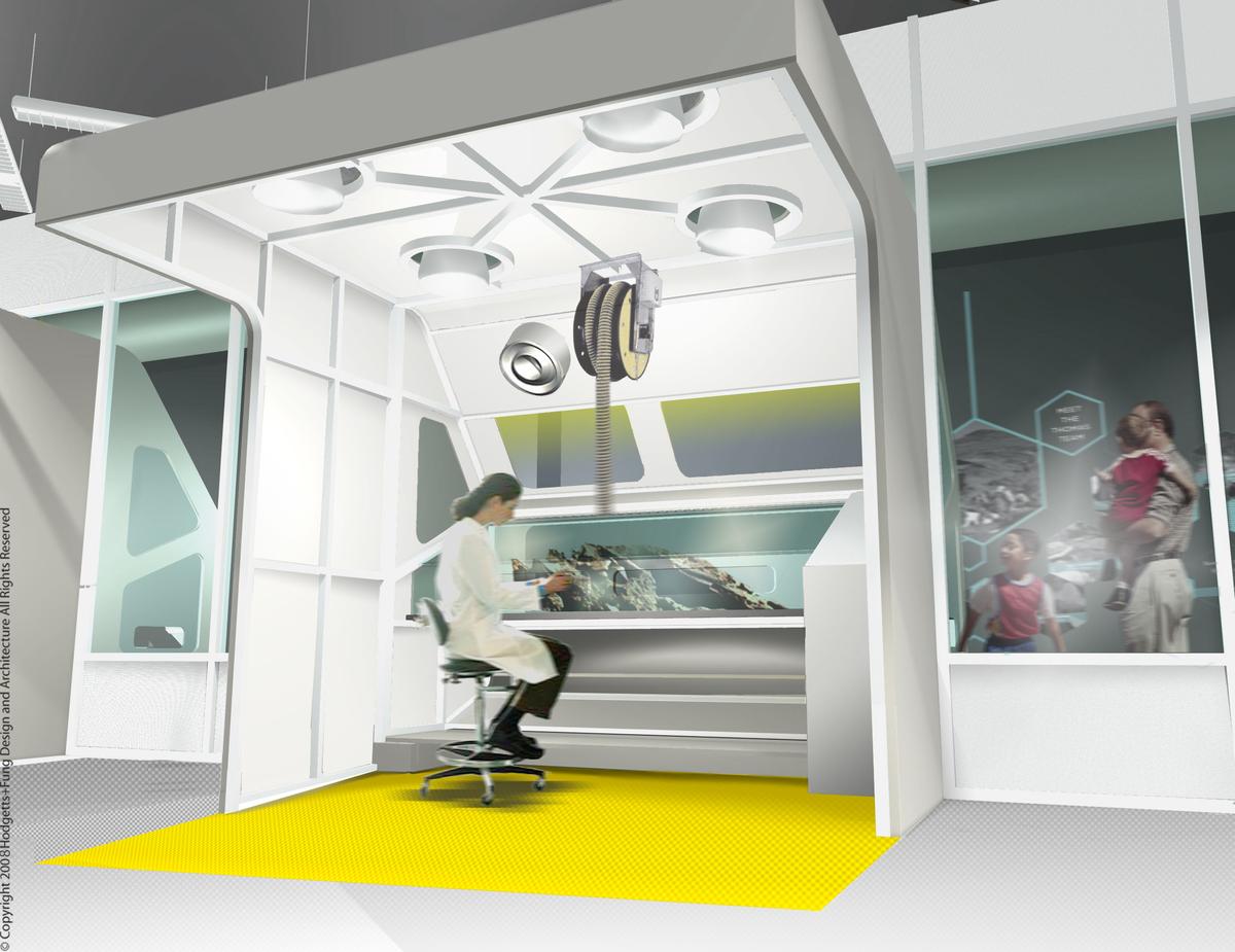 Lab Pod- B.I.M. + Photoshop Rendering