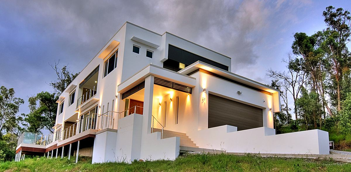 Modern house design blueprint designs archinect for Home designs brisbane
