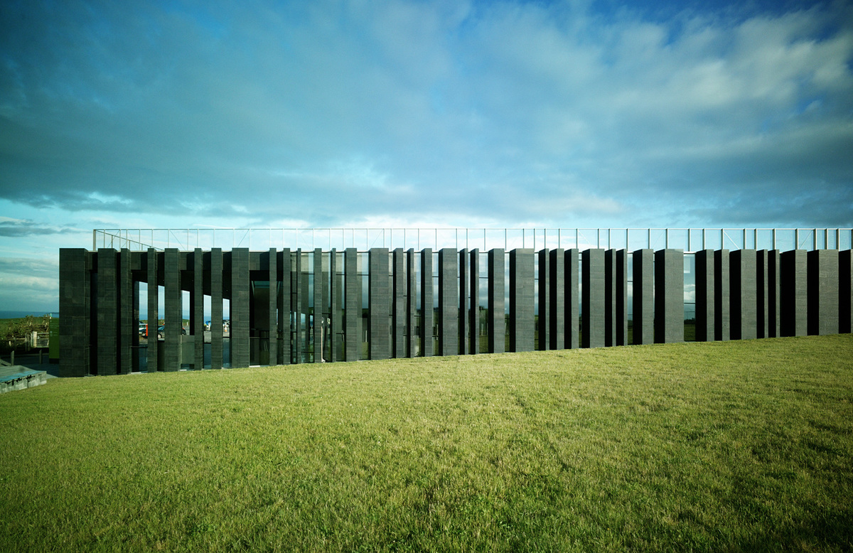 Giant's Causeway Visitor Center, Northern Ireland by heneghan peng architects; Photo: Marie-Louise Halpenny