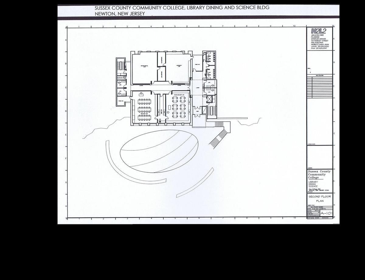 Second Floor Plan - Laboratories